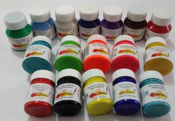 Arte frausto for Pinturas gamacolor